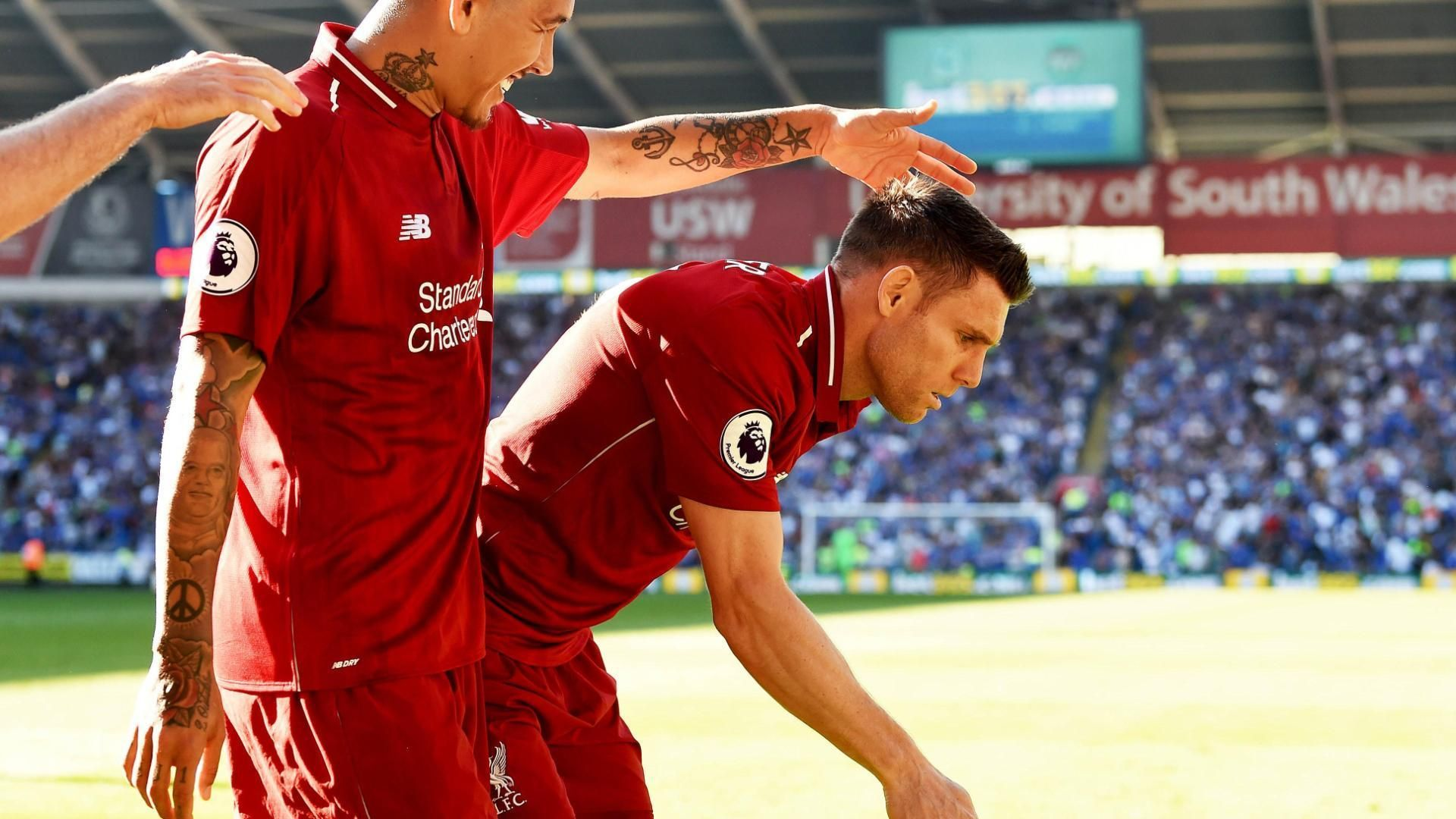 Milner doubles Liverpool's lead after Salah wins penalty