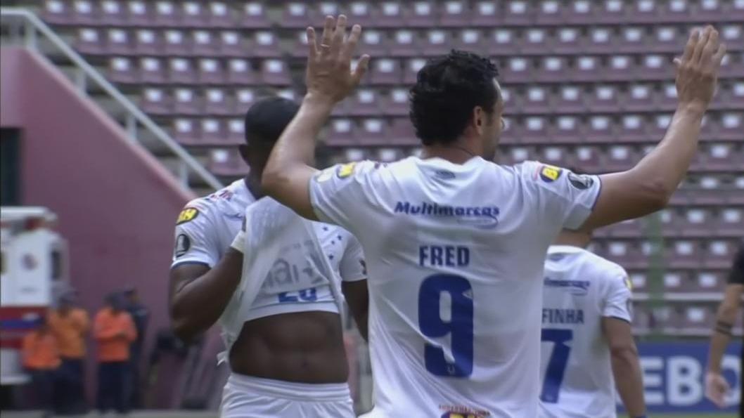 Festeja el Globo: ¡GOLAZO DE FRED! Cruzeiro le gana 1-0 a Dep. Lara