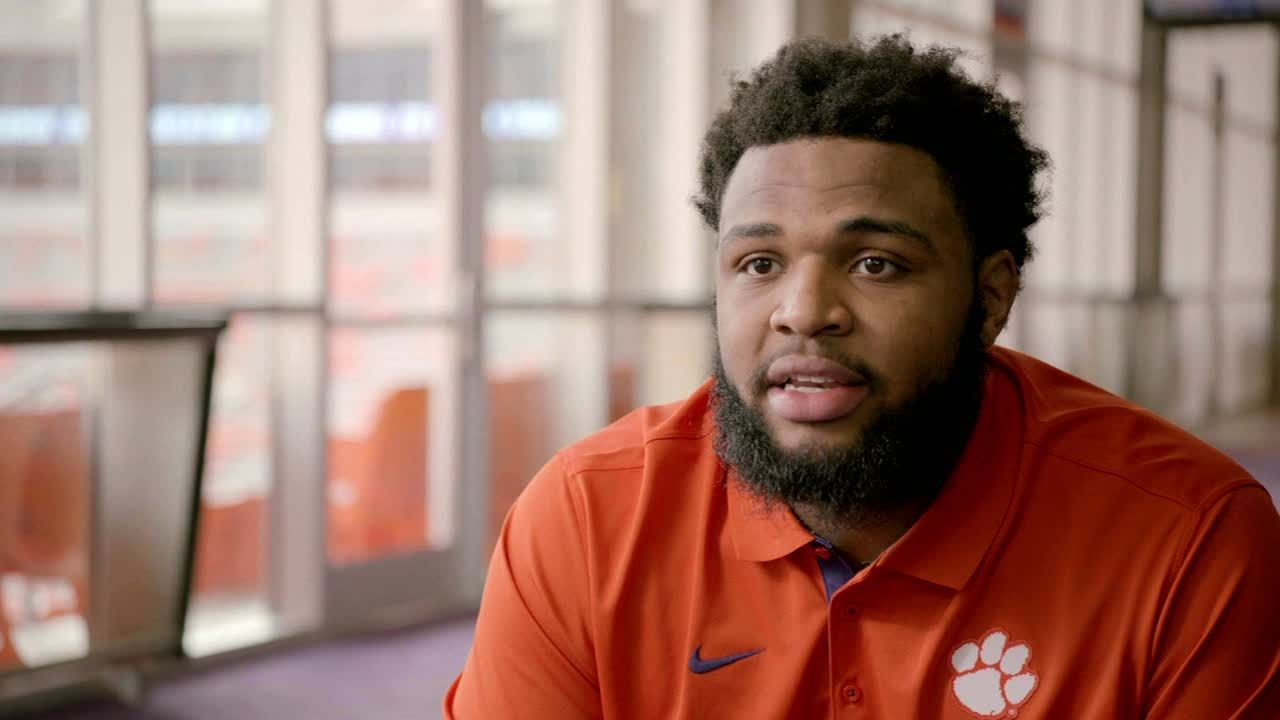 Why Clemson's Wilkins wears number 42