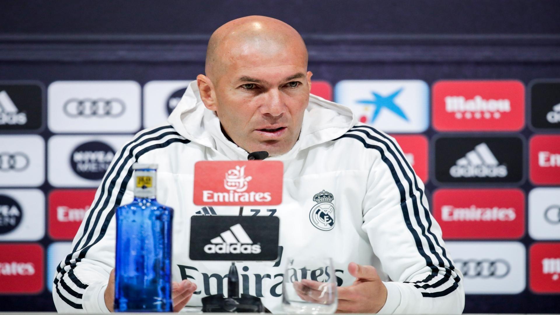 Zidane: 'La Liga será un objetivo la próxima temporada'