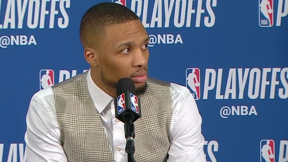 Lillard on wave after buzzer-beater: 'Series is over'