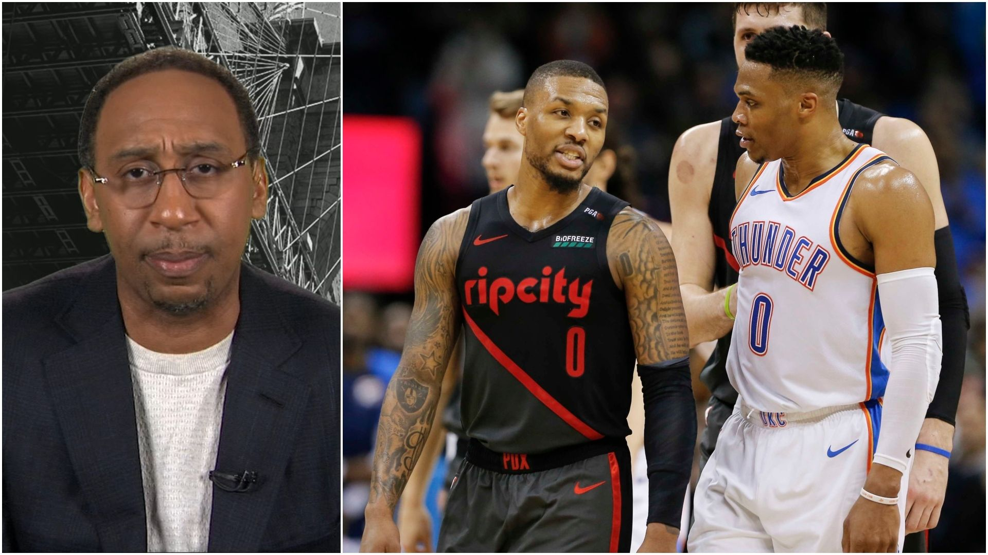 Stephen A. would take Lillard over Westbrook