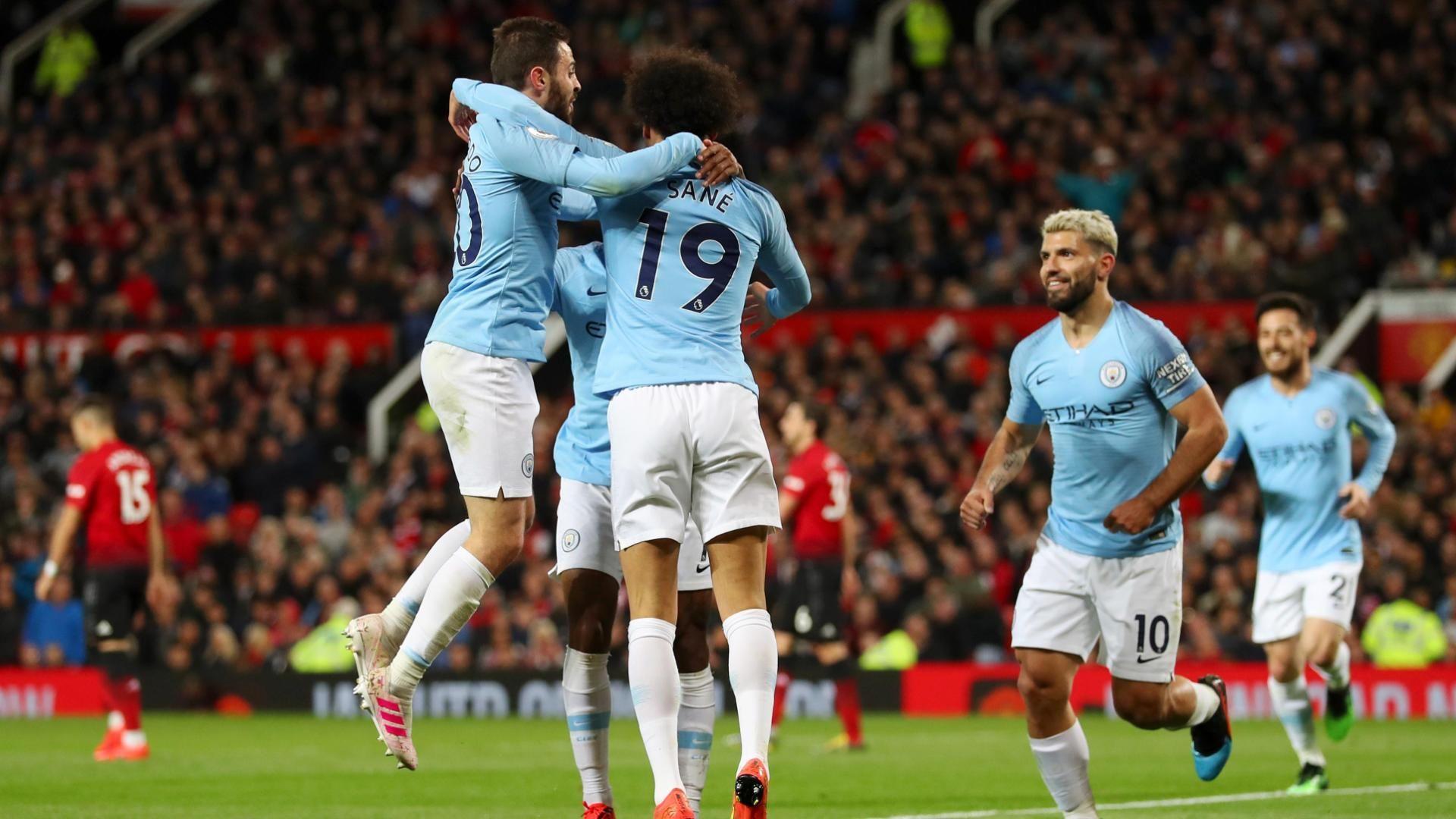 ¡SANÉ LIQUIDA EL CLASICO! El City gana 2-0 en Old Trafford