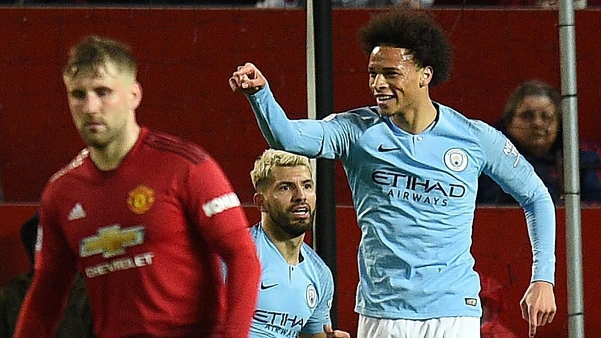 Sane doubles Man City lead