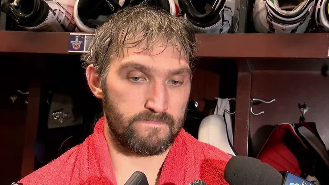 Ovechkin: 'Frustrating, especially after last year'