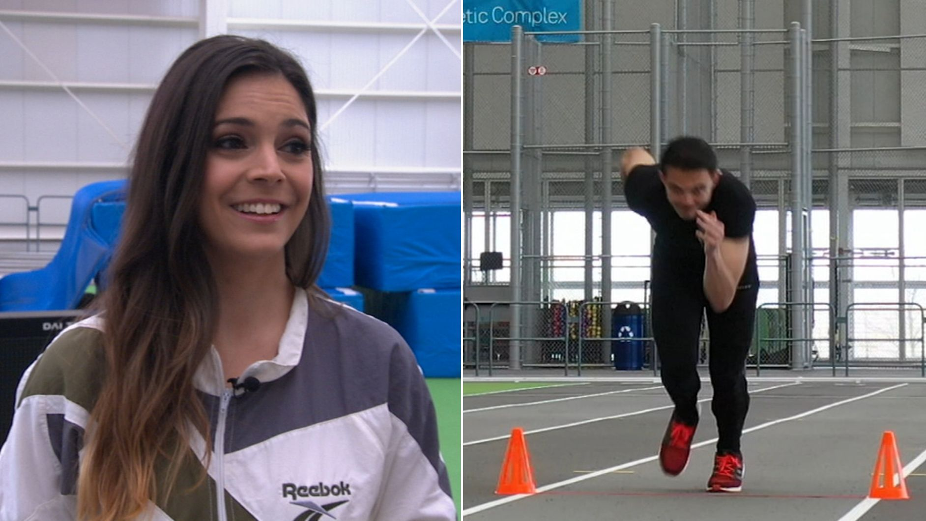 Katie Nolan challenges fan to back up 40-yard dash trash talk