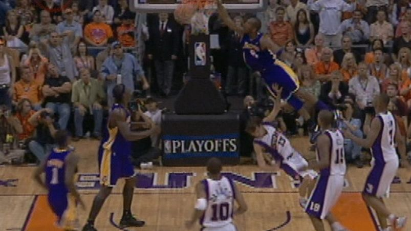 On this date: Kobe steamrolls over Nash for big jam