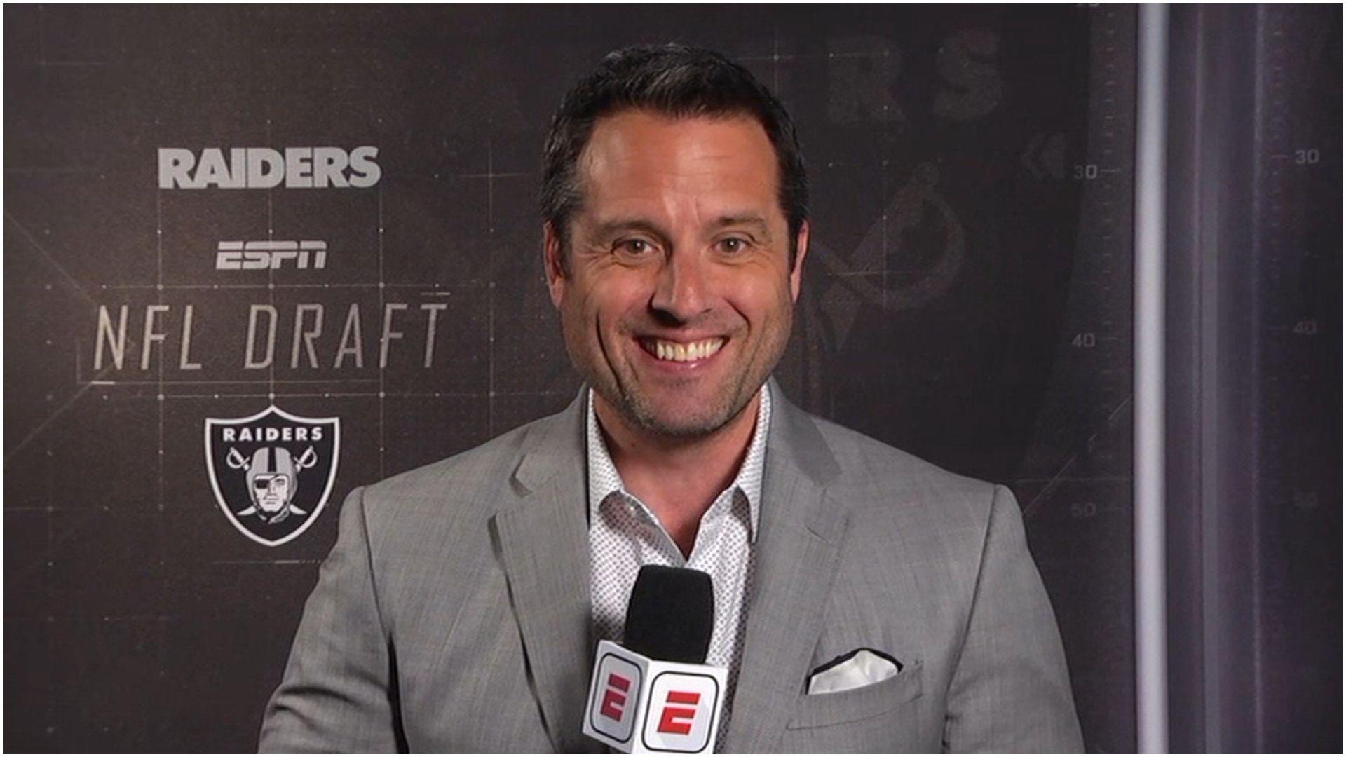 Graziano: Raiders open to trading 4th overall pick