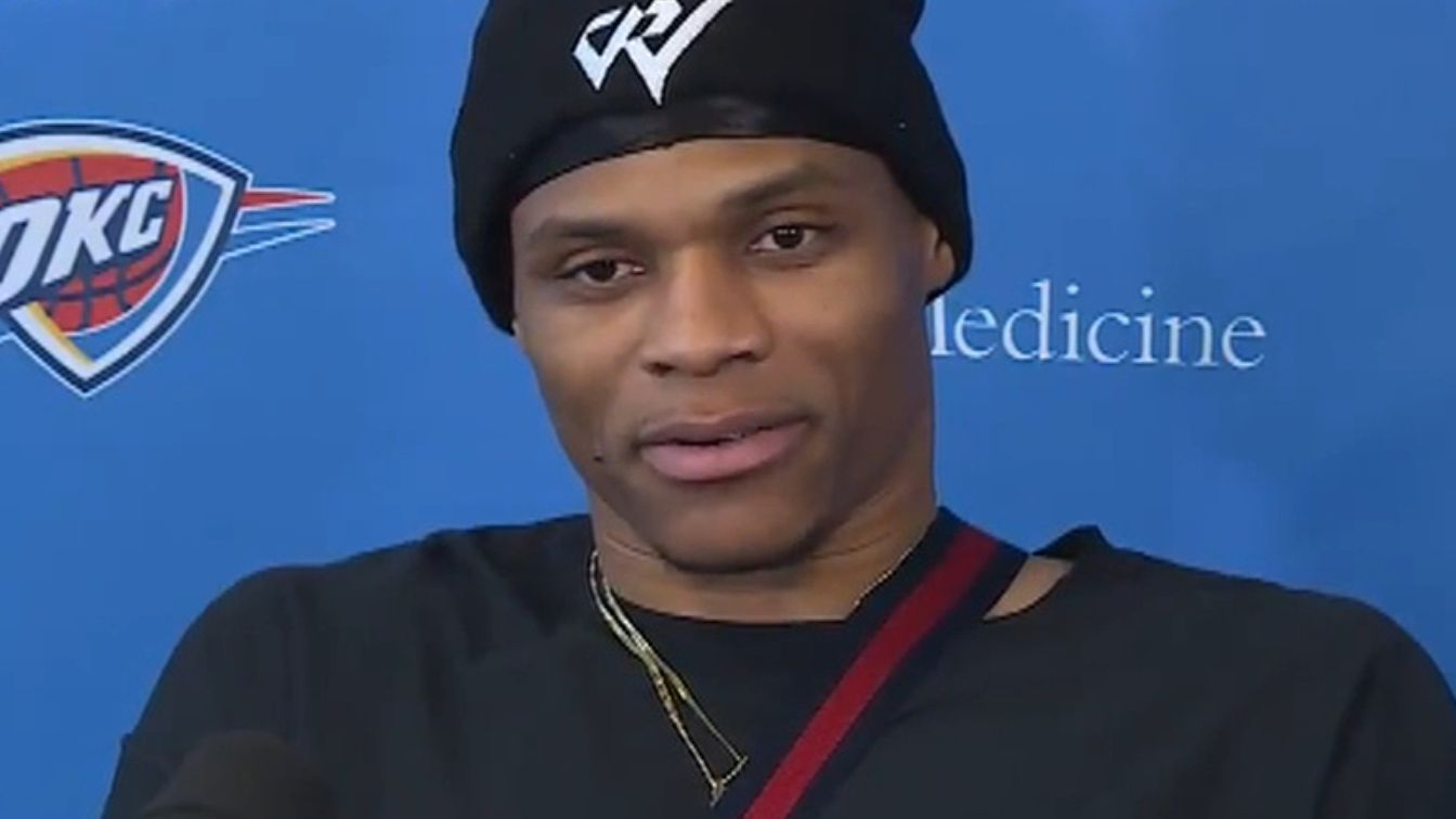 Westbrook on haters: No one can take away my success