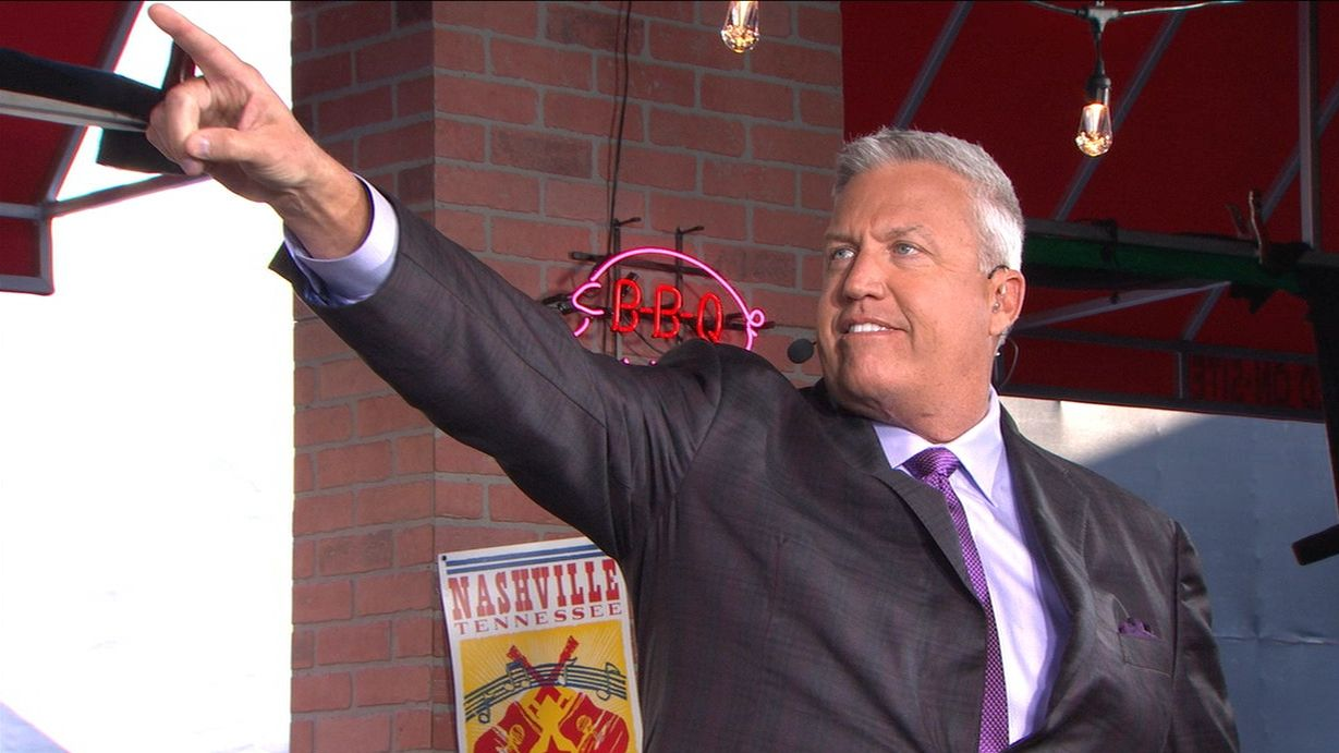Rex celebrates calling Jones to Giants pick