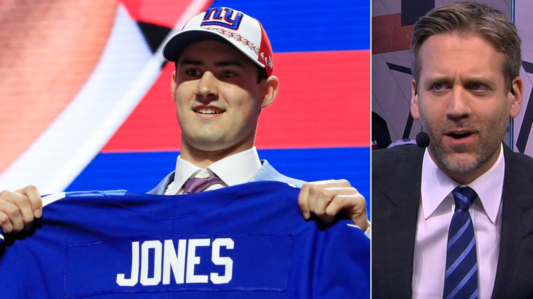 Max vents on Giants' pick: Jones is a 'Day 2 guy'