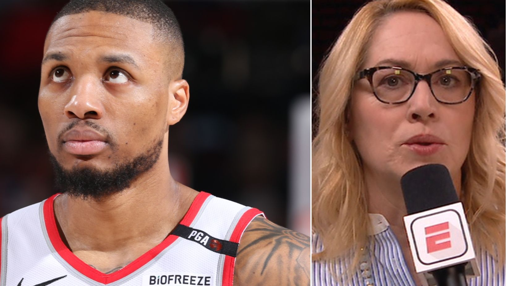 Doris on Lillard: 'He is not himself'