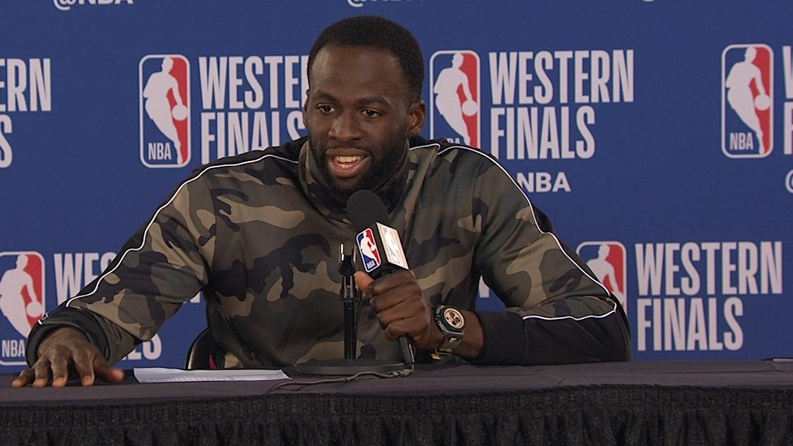 Draymond: 'I was doing more crying than playing'