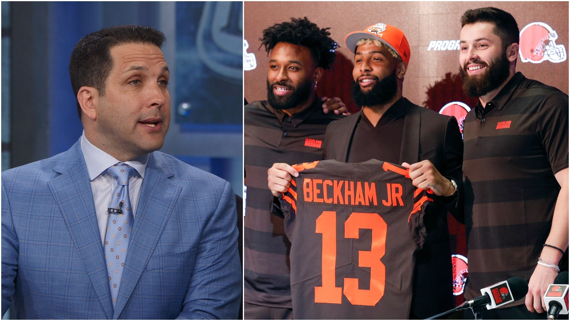 Schefter: Browns 'can't be on prime time enough' this season