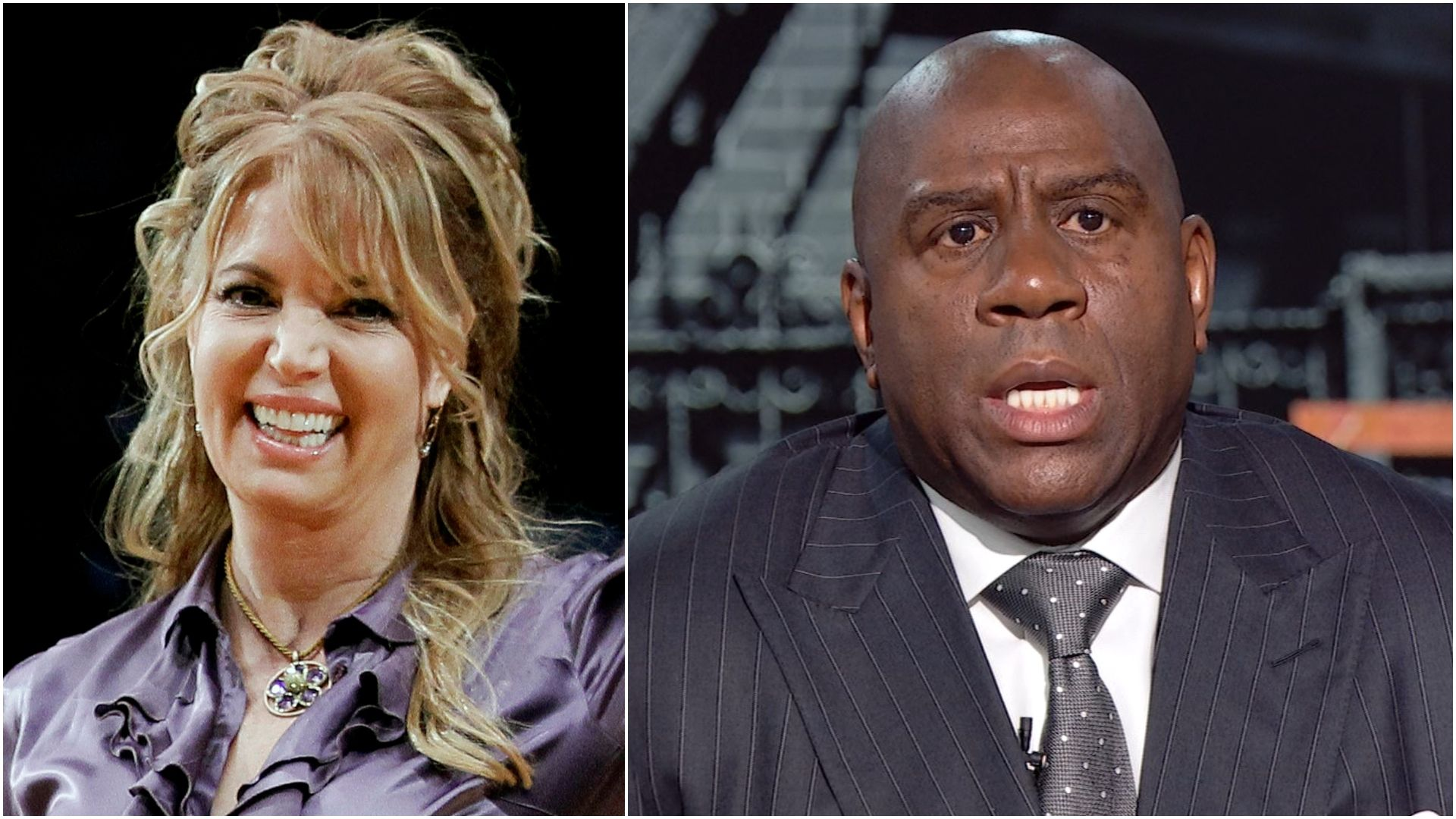 Magic would be 'running up to Jeanie' if Lakers were for sale