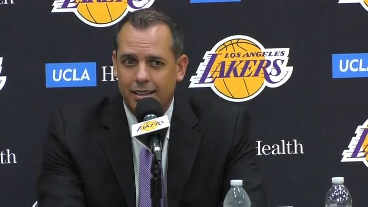 Vogel had a 'very positive' discussion with LeBron after hiring