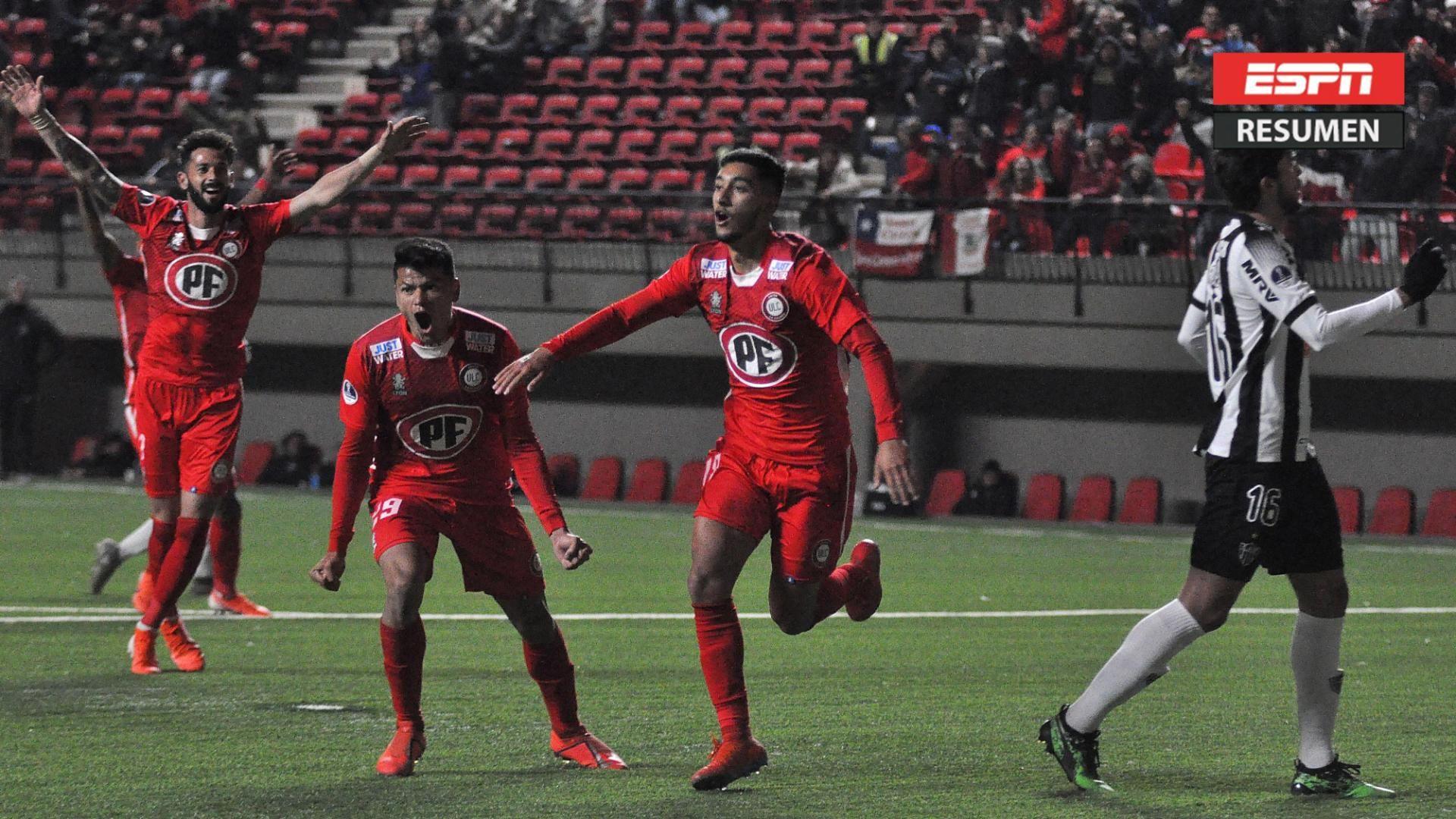 Unión La Calera dio el batacazo y le ganó a Atl. Mineiro
