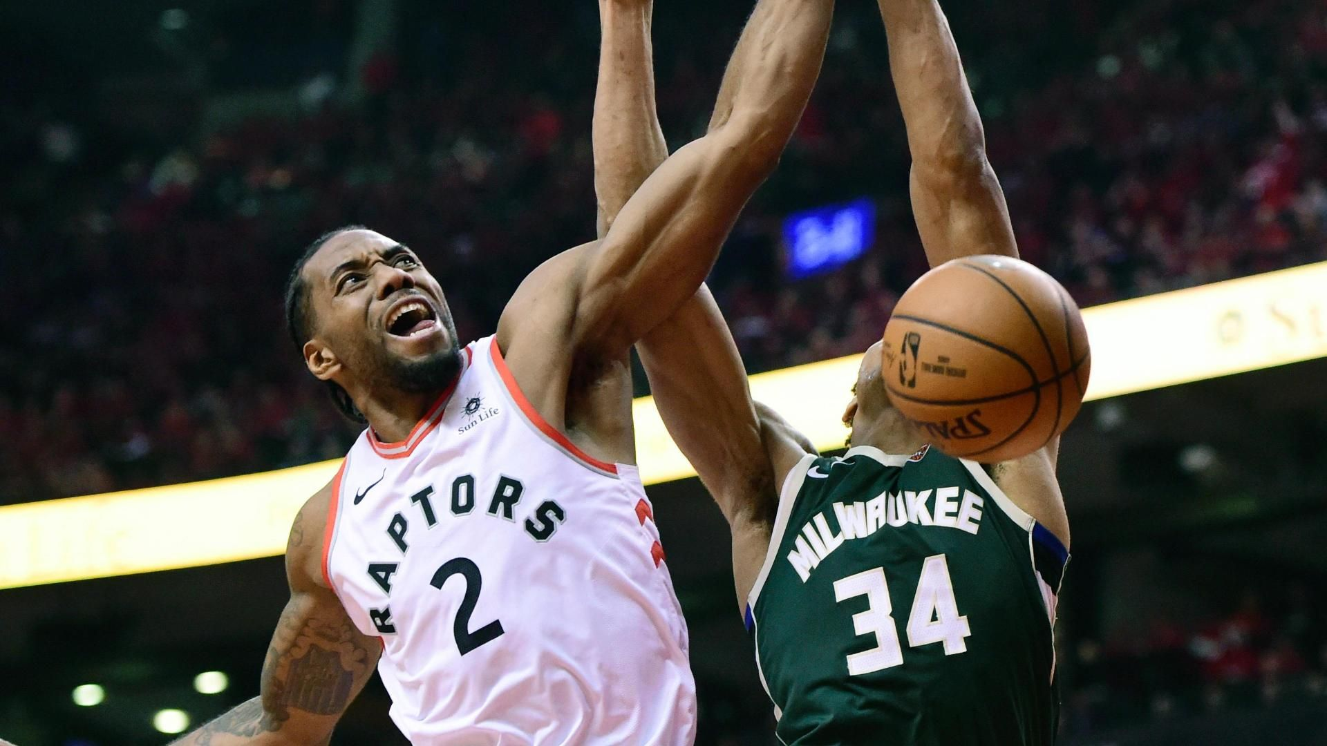 Lowry has 25, Raptors rout Bucks 120-102 to even East finals