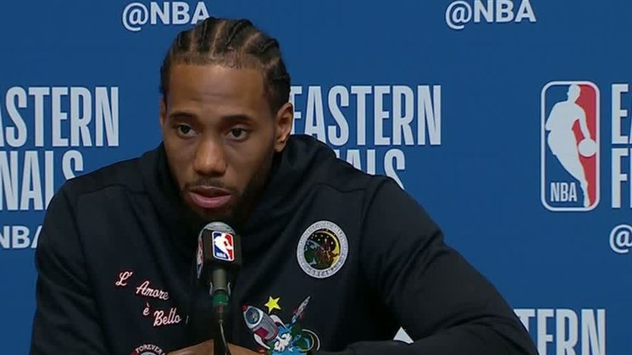 Kawhi: 'I'm not afraid of the moment'