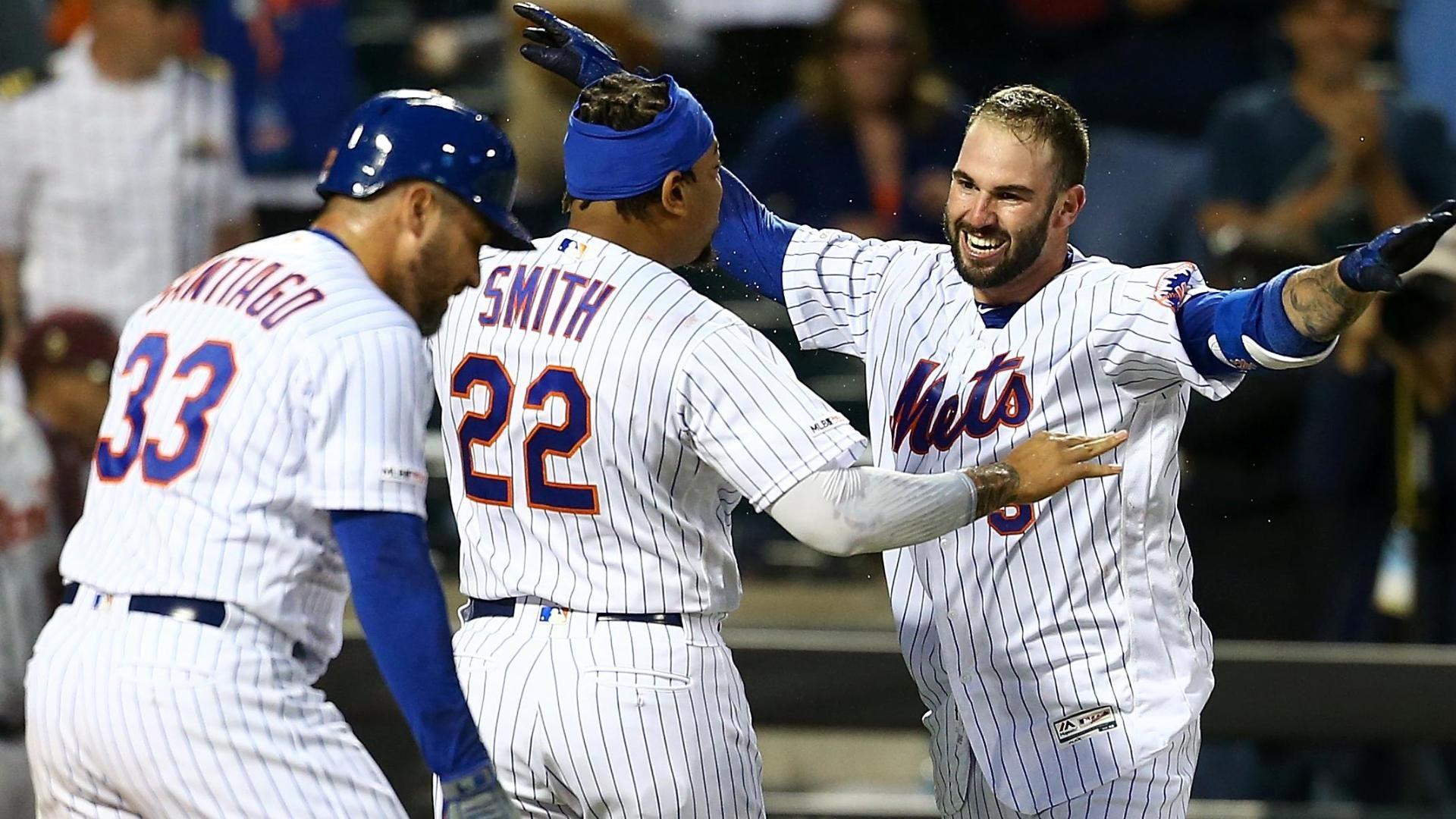 Nido homers in 13th, Ramos homers twice as Mets beat Tigers
