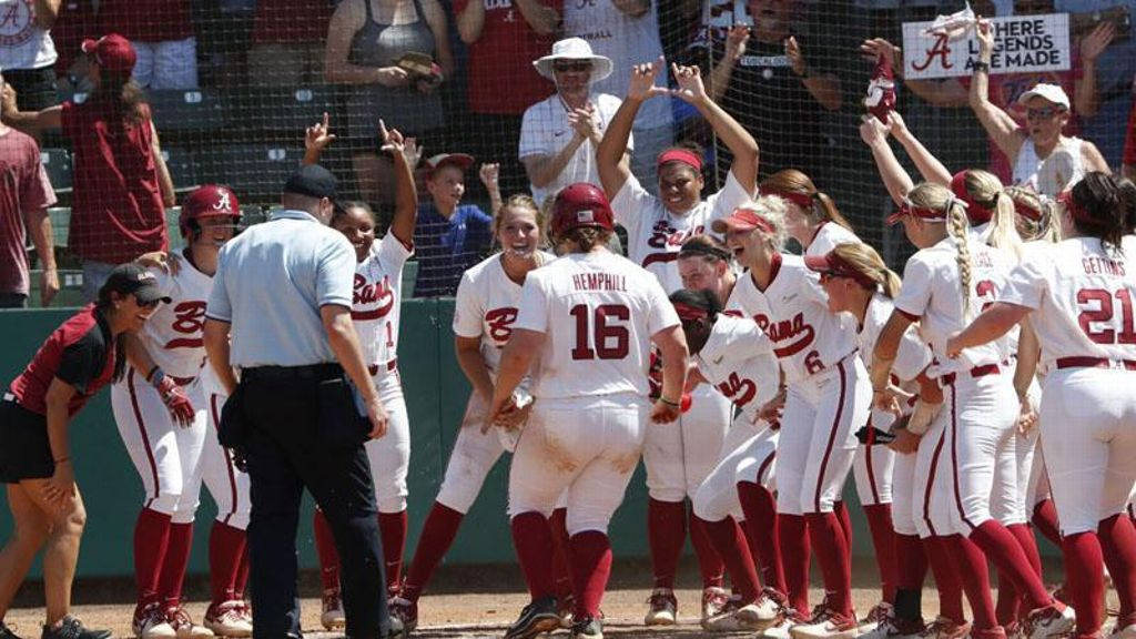 Crimson Tide punch ticket to WCWS