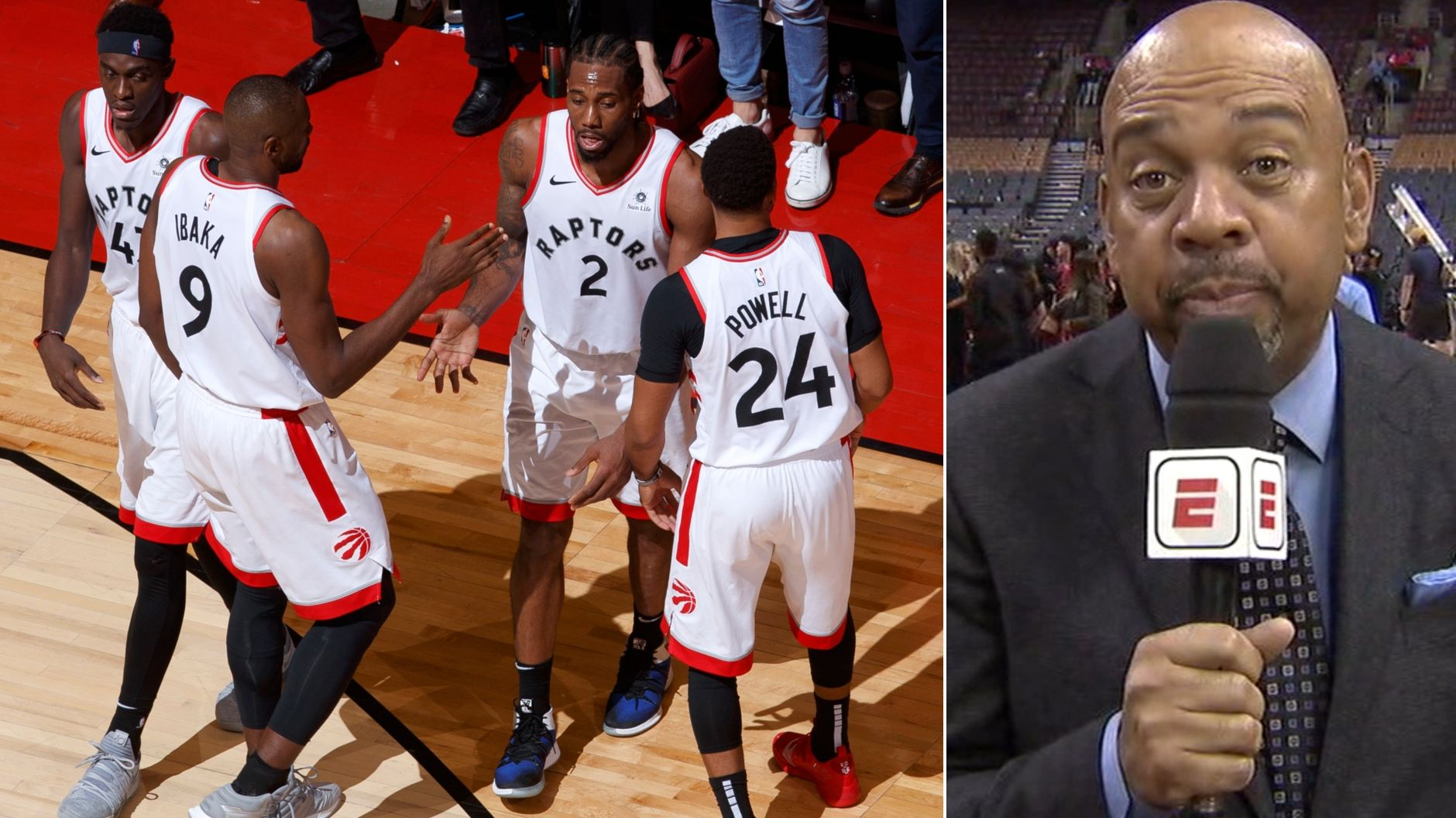Wilbon: Raptors will need role players against Warriors