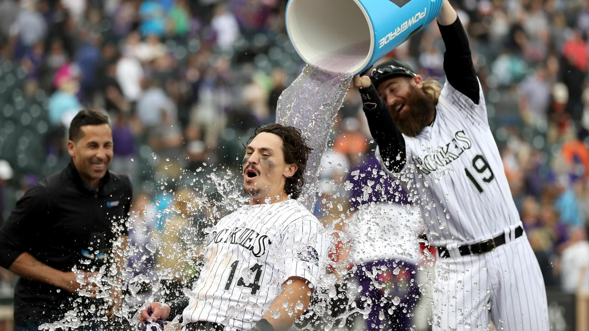 Arenado homers, Rockies score 2 in 9th to beat Orioles 8-7