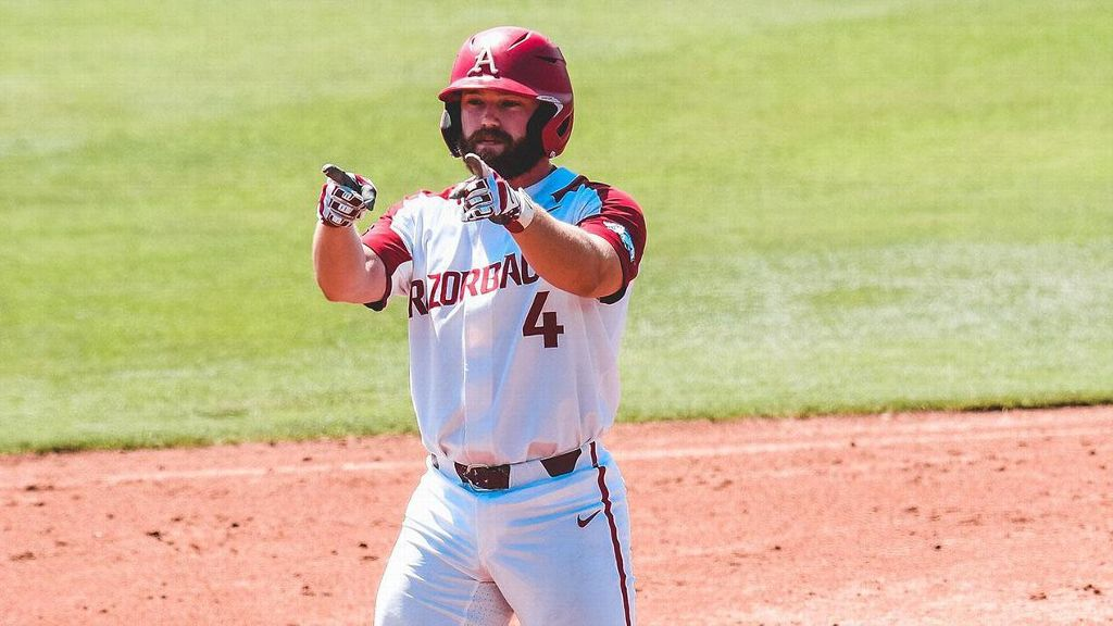 Hogs' hot offense takes down Rebels