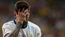 Messi and Argentina beaten by Colombia