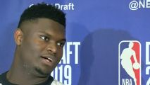 Zion likes Lonzo as an 'old school point guard'
