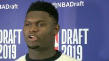 Zion was golfing when he found out about AD trade