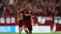 Uno a pura gambeta y un penal, el doblete de Villa al Nagoya