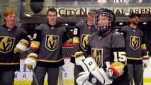 Fleury, Golden Knights make teen's wish come true
