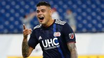 Gustavo Bou scores wonder volley on Revs debut