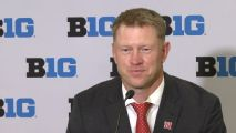 Frost doesn't care that Nebraska is Big Ten West favorite