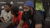 Harden: I'm working on a new move that looks like a travel