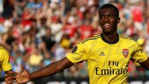Nketiah scores twice in Arsenal win over Fiorentina