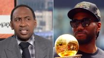 Stephen A. questions Kawhi's uncle in signing with Clippers