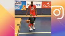Young baller scores Harden's stepback on Harden