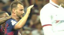 Rakitic screamer gives Barca late consolation