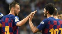 Rakitic screamer gives Barca late consolation