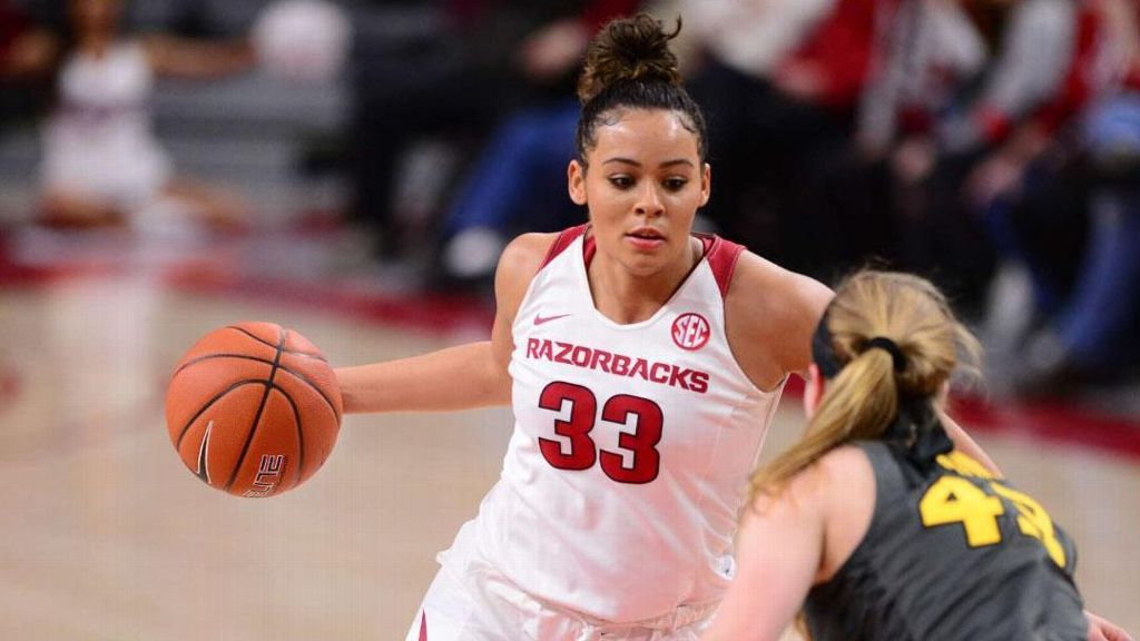 Dungee drops 38 points in Razorback win