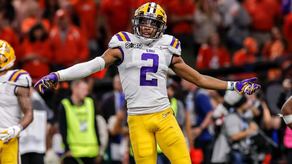 Justin Jefferson's 2020 NFL draft profile