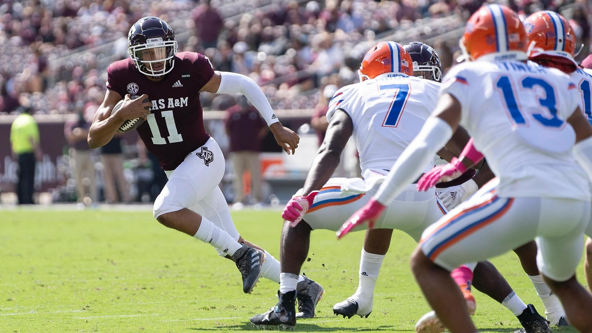 Texas A&M's Mond has one of his best games yet