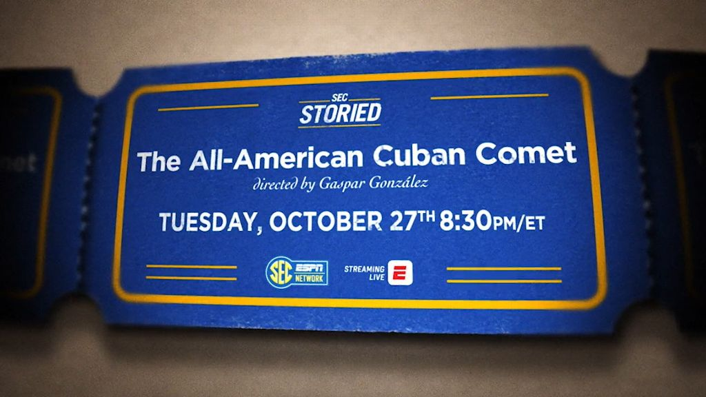 SEC Storied returns with The All-American Cuban Comet