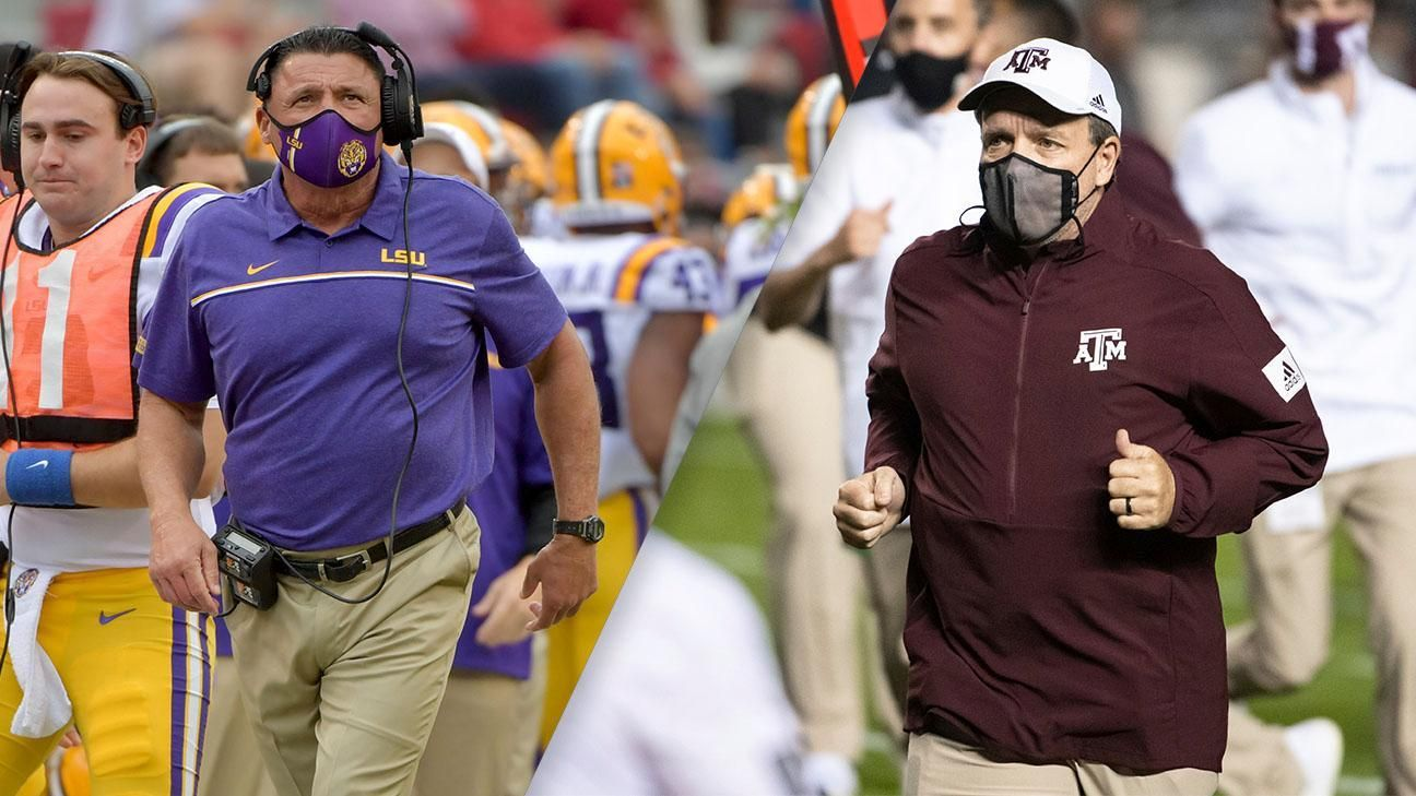 Orgeron on facing an improved Aggies team