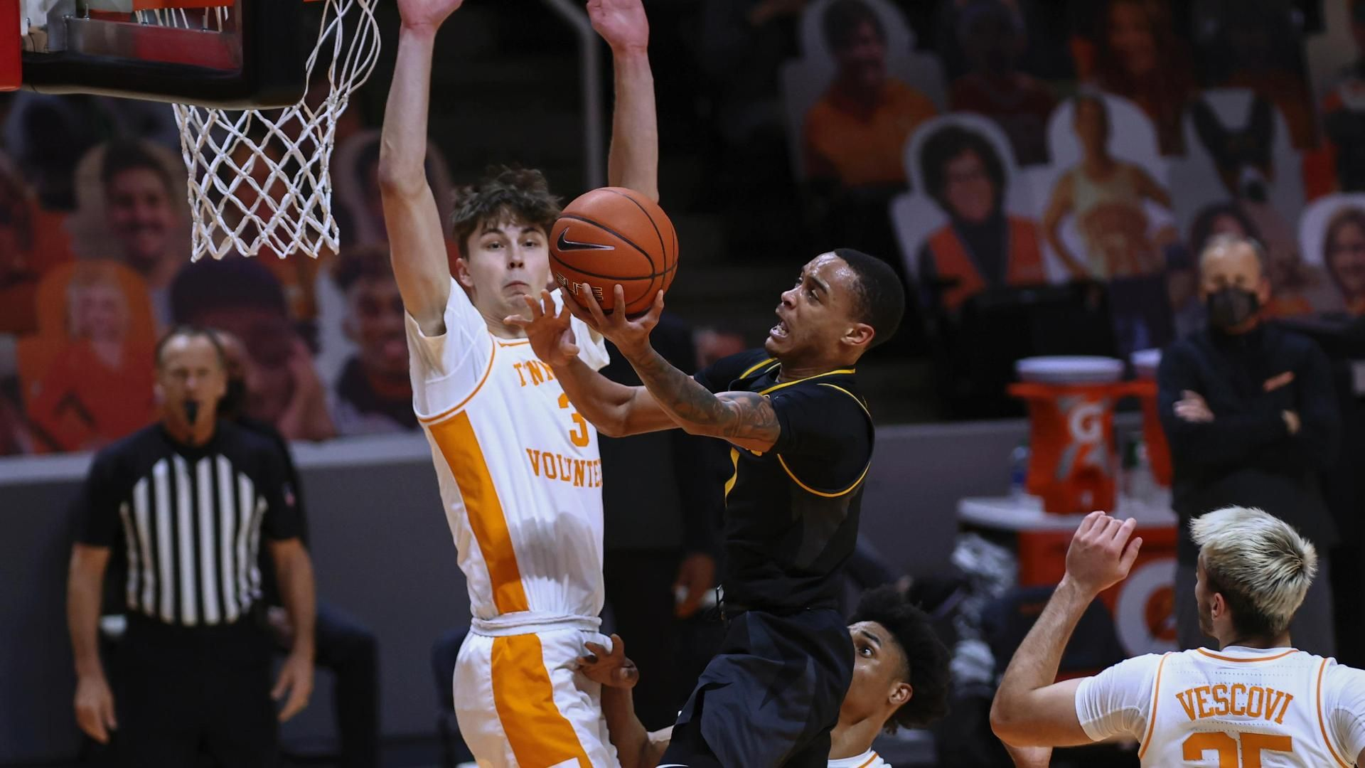 Pinson leads Tigers to victory past  No. 6 Tennessee