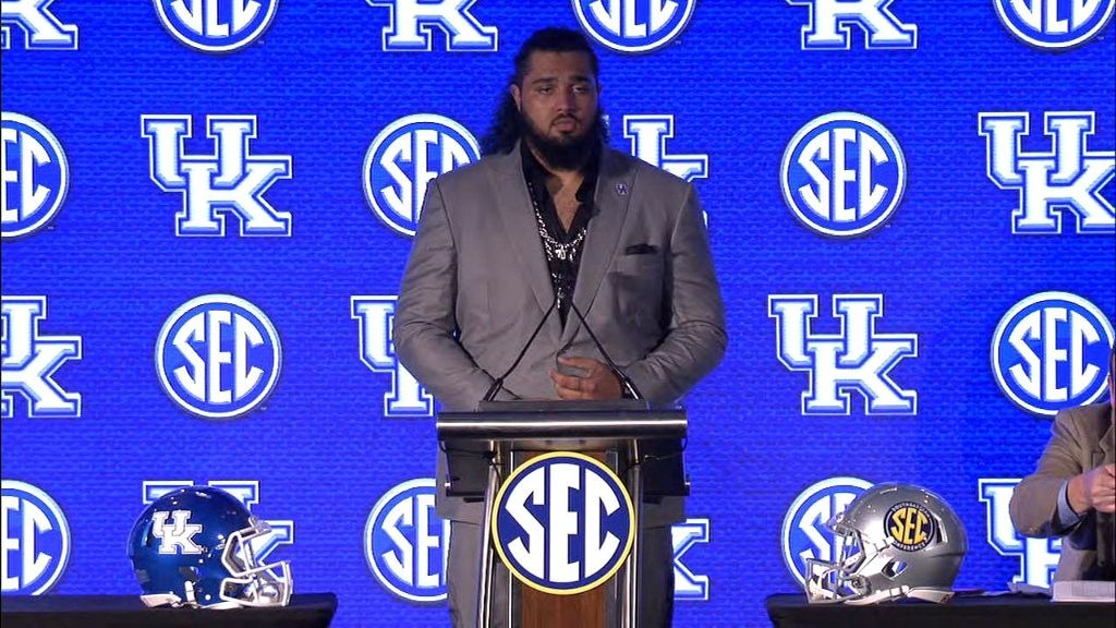 UK's Kinnard looks forward to new role on offense