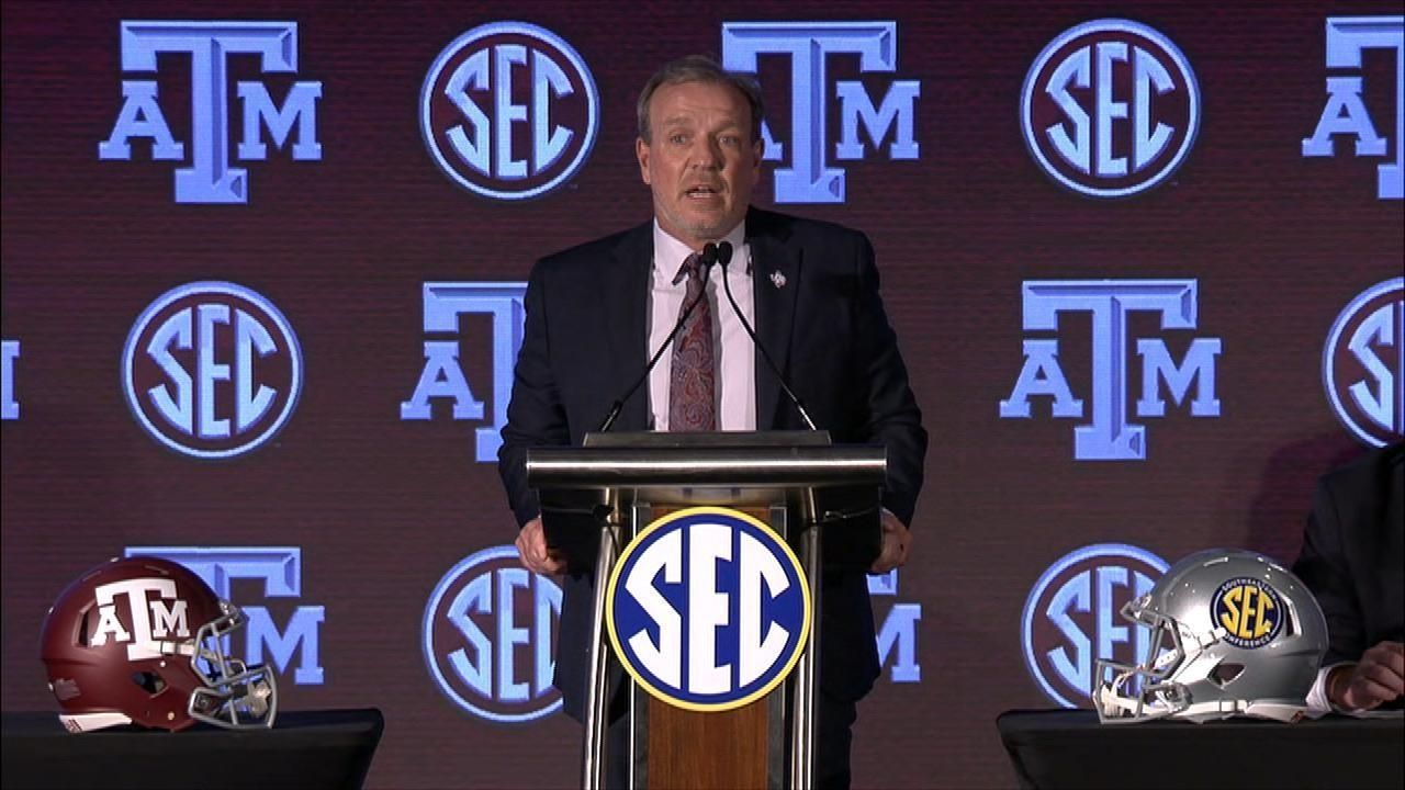 Fisher says culture drives Texas A&M's success