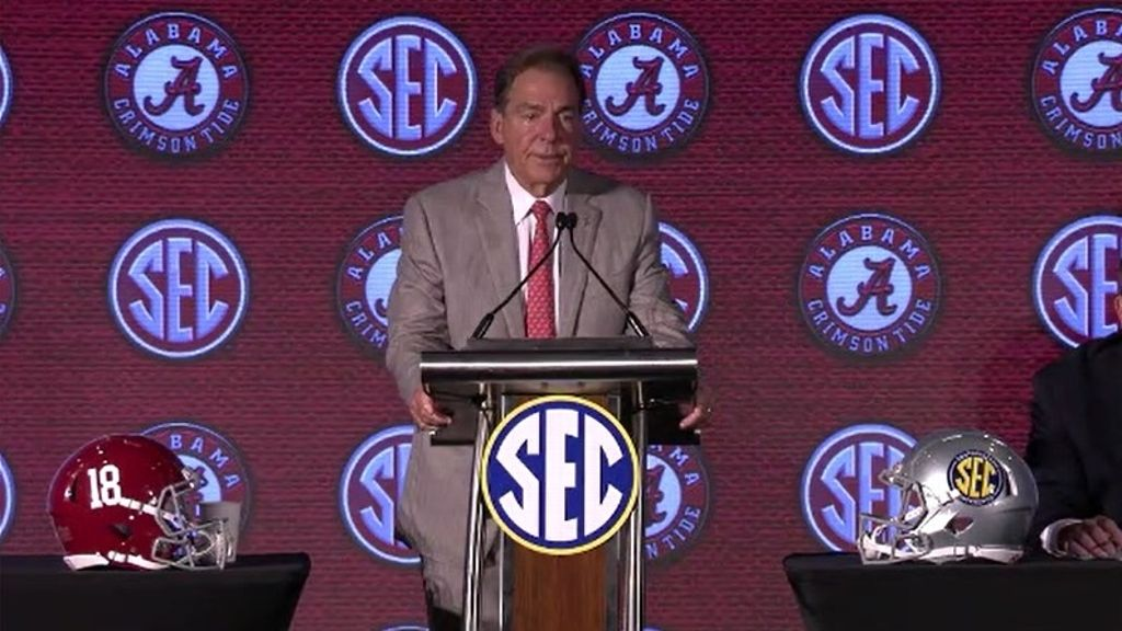 Saban on Bama mindset: 'Be the best player you can be'